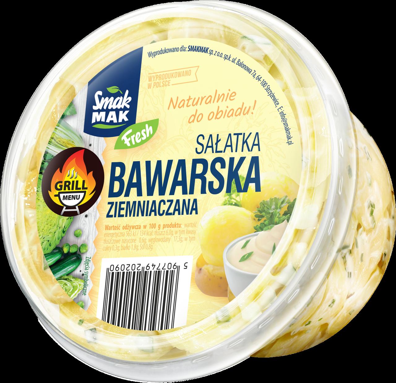 Sałatka bawarska ziemniaczana
