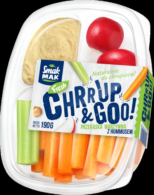Hummus Chrrup & Goo!